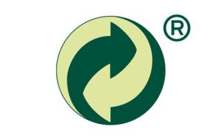 Grüner Punkt Plastipol Scheu